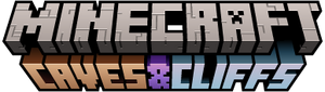 Caves & Cliffs logo