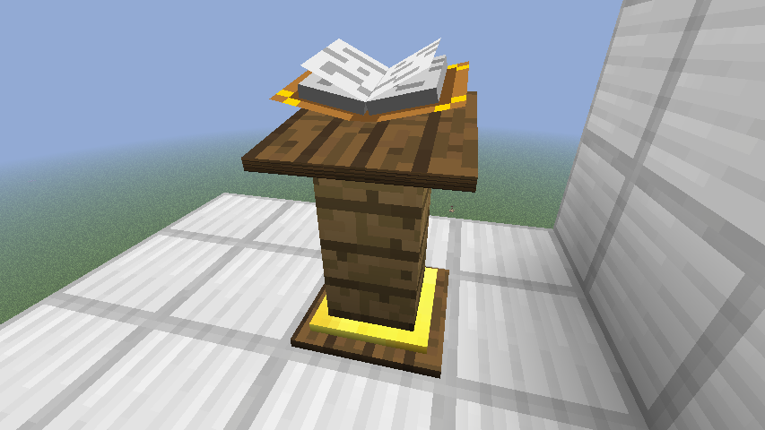 Lectern Official Minecraft Wiki