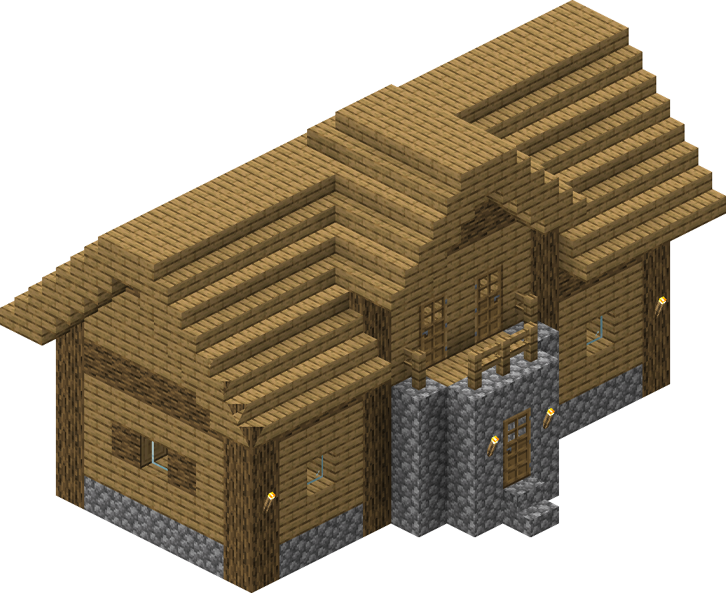 Village/Structure/Blueprints/Plains library 8 blueprint – Official