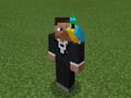 Cyan Parrot on Tuxedo Steve.png