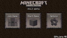 Pocket Edition v0.1.3 alpha.png