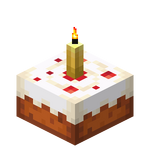 Yellow Candle Cake (lit) JE3.png