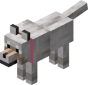 Tamed Wolf with Pink Collar.png