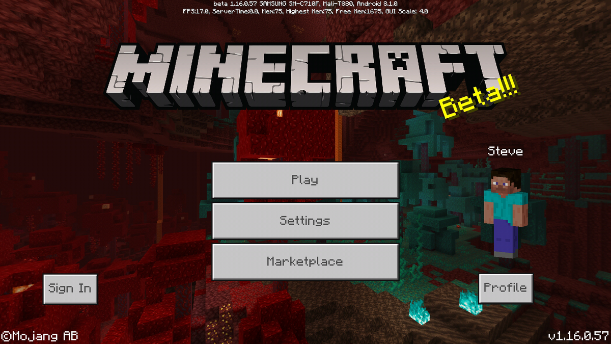 Bedrock Edition Beta 1 16 0 57 Official Minecraft Wiki