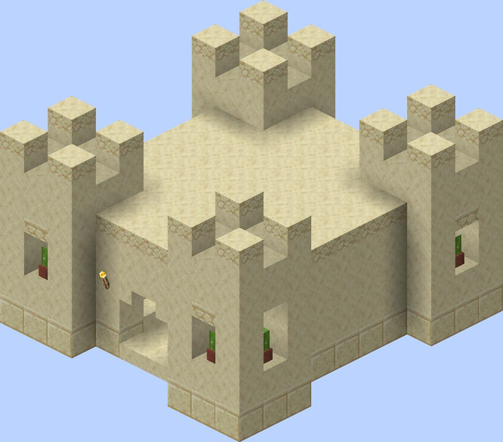 Village/Structure/Blueprints/Desert temple 8 blueprint – Official