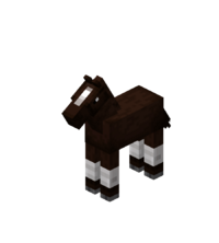 Baby Darkbrown Horse with White Stockings.png