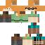 A textura de Alex com pixels ocultos mostrados