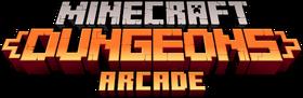 Minecraft Dungeons Arcade Logo.png