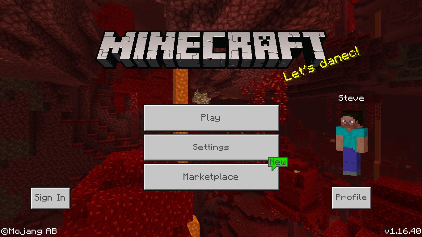 Bedrock Edition 1 16 40 Official Minecraft Wiki