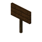 Dark Oak Standing Sign (S) JE2 BE2.png