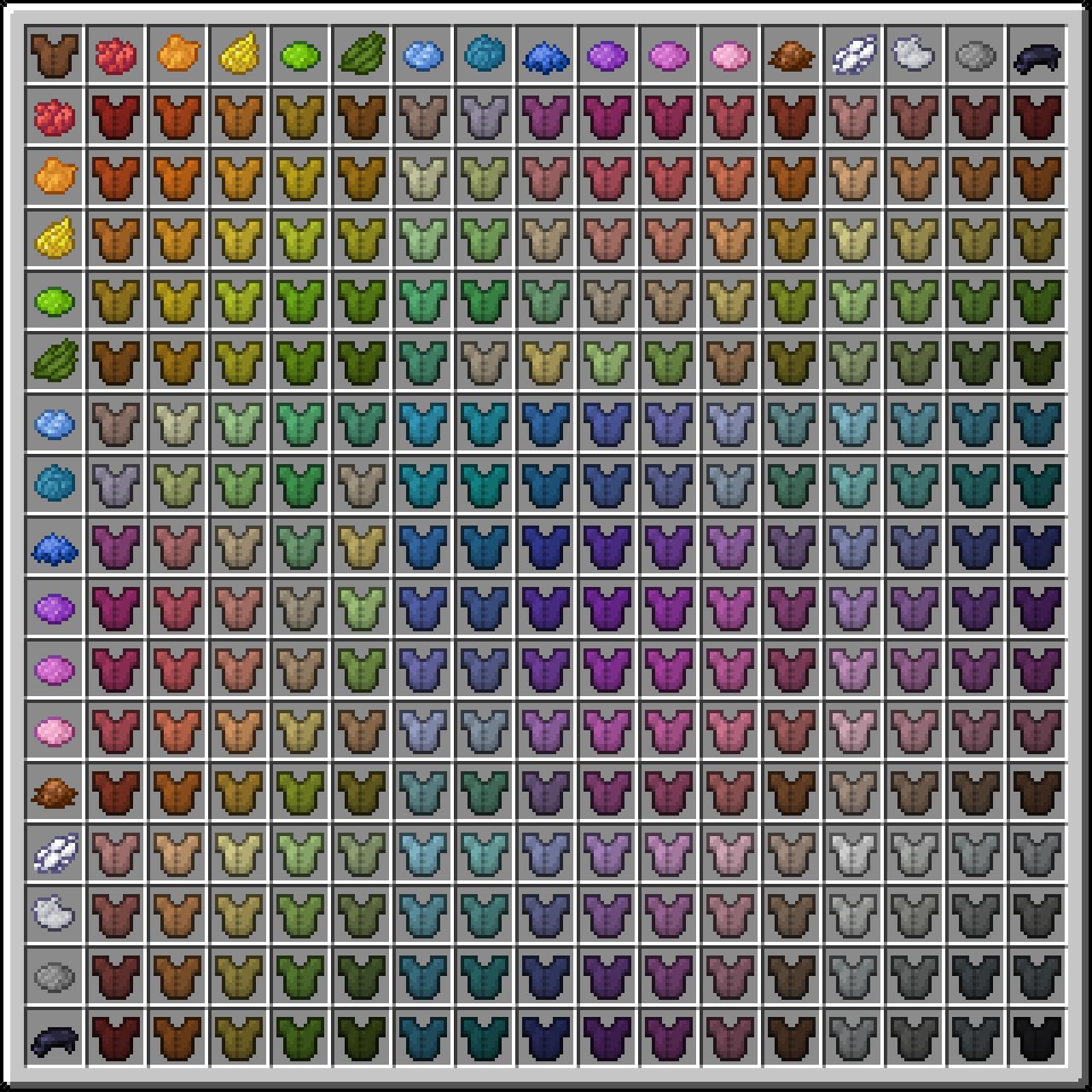 Dye – Official Minecraft Wiki