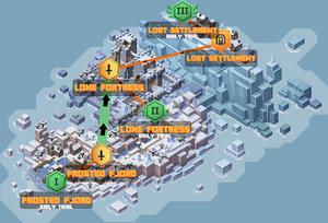 DLC Snowy Island LocationsMarked.png