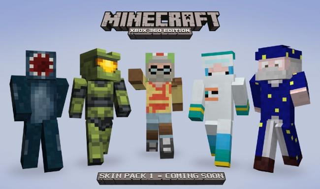 Minecraft Skin Pack 3 Ps3