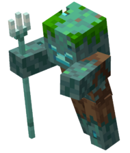 Drowned with Trident (Dungeons).png