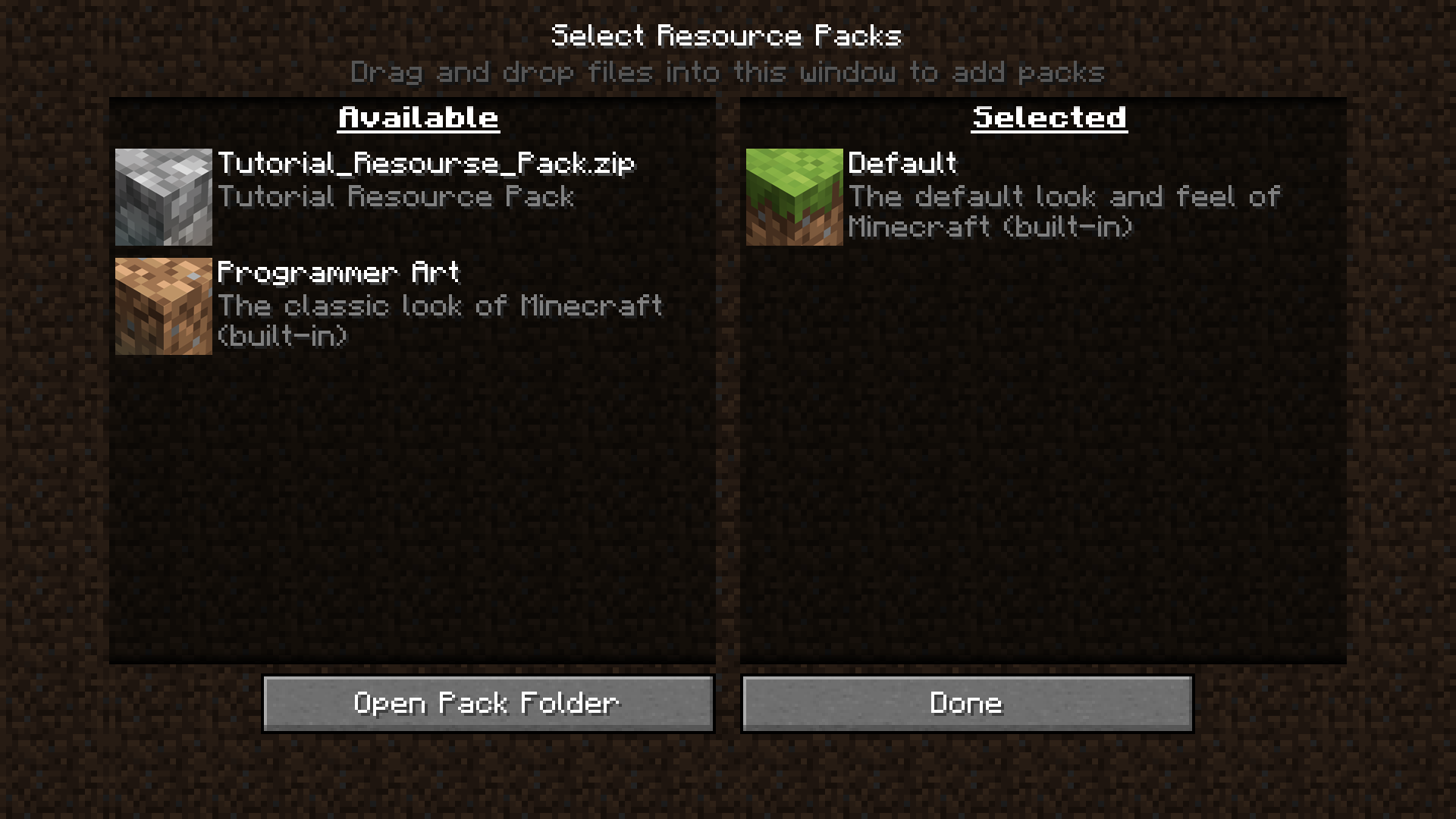 Tutorials Creating A Resource Pack Official Minecraft Wiki