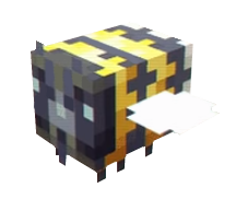 Old Bee Minecraft Mob Skin