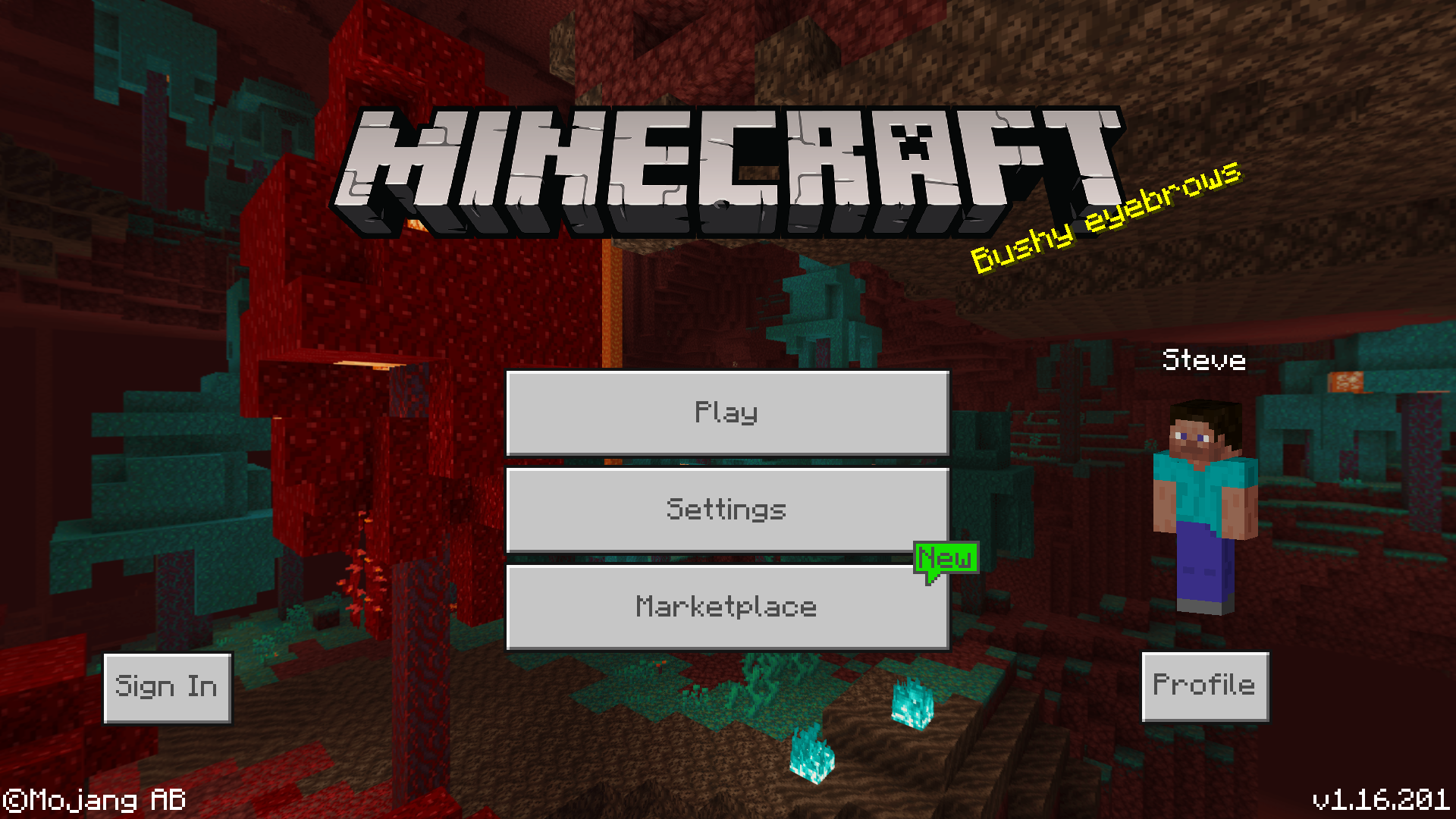 Bedrock Edition 1 16 201 Official Minecraft Wiki