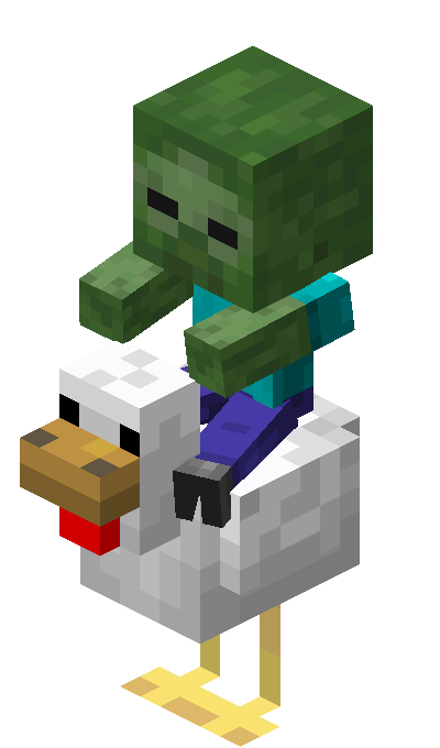 Chicken Jockey Official Minecraft