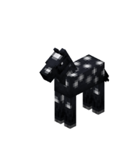 Baby Black Horse with White Spots.png