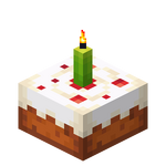 Lime Candle Cake (lit) JE3.png