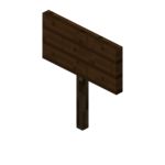 Dark Oak Standing Sign (S) JE1 BE1.png