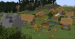 A new village in the plains biome.png