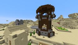 Pillager outpost in desert village.png