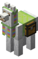 Lime Carpeted Llama with Chest.png