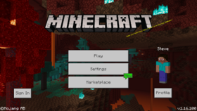 Bedrock Edition 1 16 100 Official Minecraft Wiki