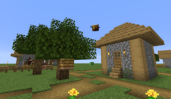 Bee nest in superflat village.png