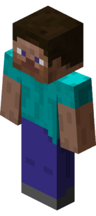Steve player character model