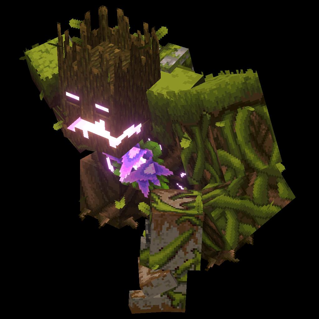 Minecraft Dungeons:Jungle Abomination Official Minecraft Wiki