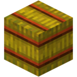 A six-sided hay bale (side texture).