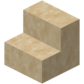 Smooth Sandstone Stairs (N) JE1 BE1.png