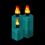 Three Cyan Candles (lit).png
