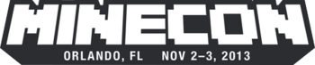 MINECON 2013 のロゴ