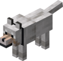 Tamed Wolf with Black Collar.png