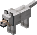 Tamed Wolf with Gray Collar.png