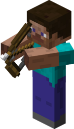 Steve aiming with Bow.png