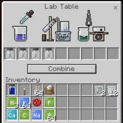 実験テーブル