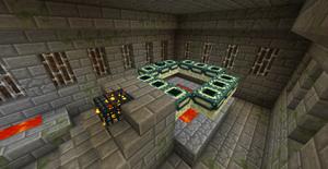 地下 要塞 マイクラ 要塞入り口を見っけ!拠点を作ってエンドクリスタルも置いてみたその81
