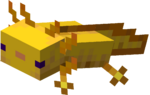 Axolotl Hovering in Water (gold).png