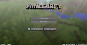 15w14a title screen-no world.png