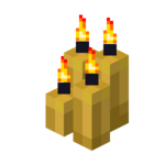 Four Yellow Candles (lit).png