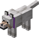 Tamed Wolf with Purple Collar.png