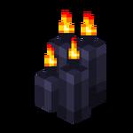 Four Black Candles (lit).png