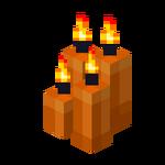 Four Orange Candles (lit).png