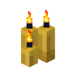 Three Yellow Candles (lit).png
