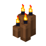 Four Brown Candles (lit).png