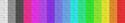 Classic wool color spectrum.
